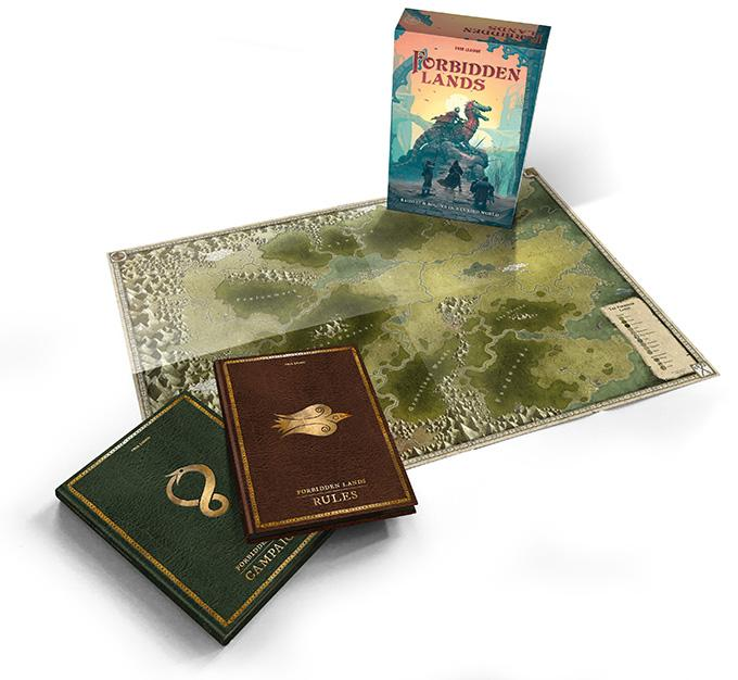 Forbidden Lands Core Book Set - PDF