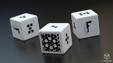Fragged Empire 3d6 Dice Set - Modiphius Entertainment