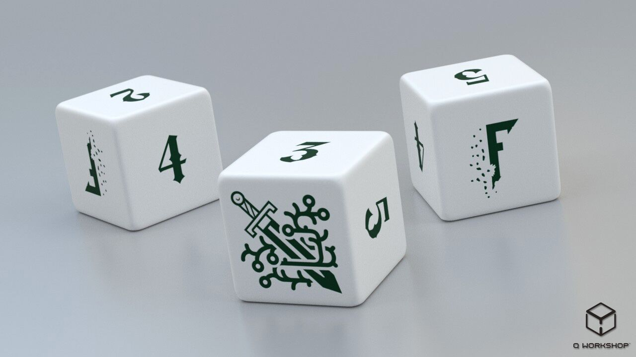 Fragged Kingdom 3d6 Dice Set