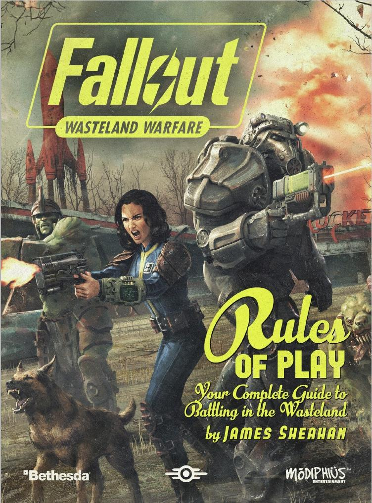 Fallout: Wasteland Warfare – Rules of Play - PDF