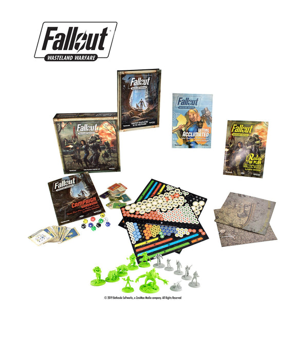 Fallout: Wasteland Warfare - RPG - Overseer's Bundle