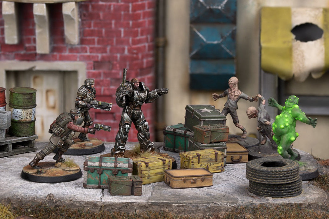 Fallout: Wasteland Warfare - Cases and Crates - Modiphius Entertainment