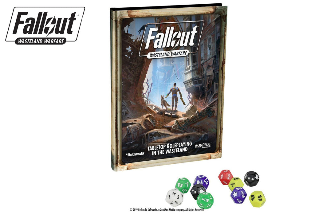 Fallout: Wasteland Warfare - RPG - Wanderer's Bundle - Modiphius Entertainment