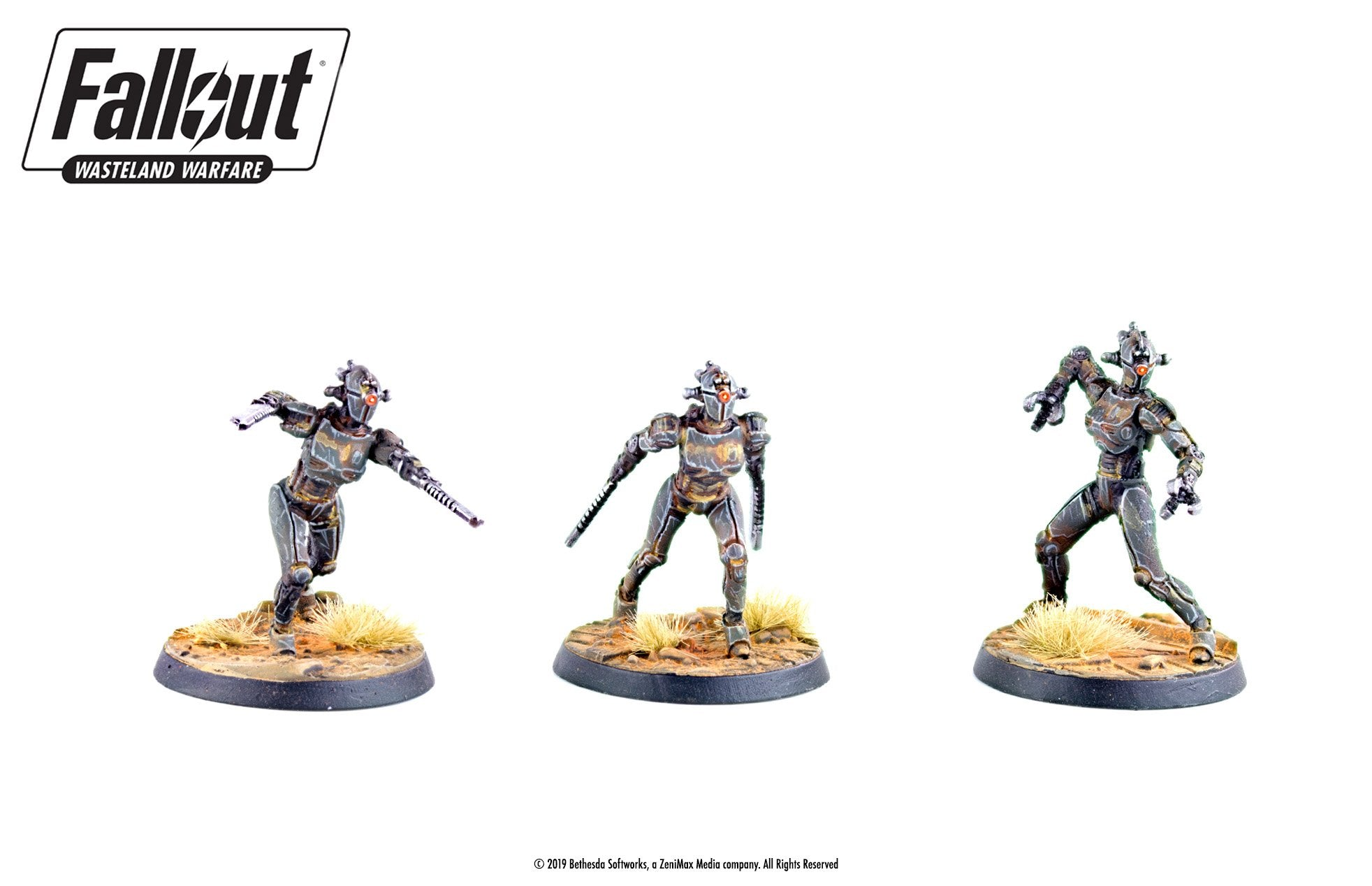 Fallout: Wasteland Warfare - Robots: Assaultrons