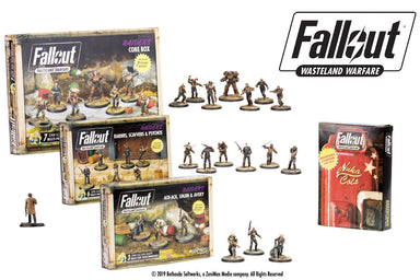 Fallout: Wasteland Warfare – The Raider Bundle - Modiphius Entertainment