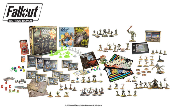 Fallout: Wasteland Warfare - Vault Tec Bundle
