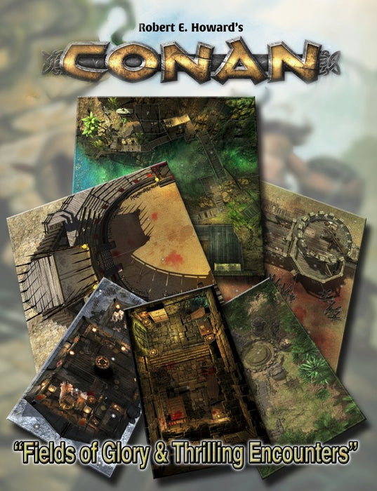 Conan: Fields of Glory & Thrilling Encounters Geomorphic Tile Set - PDF - Modiphius Entertainment