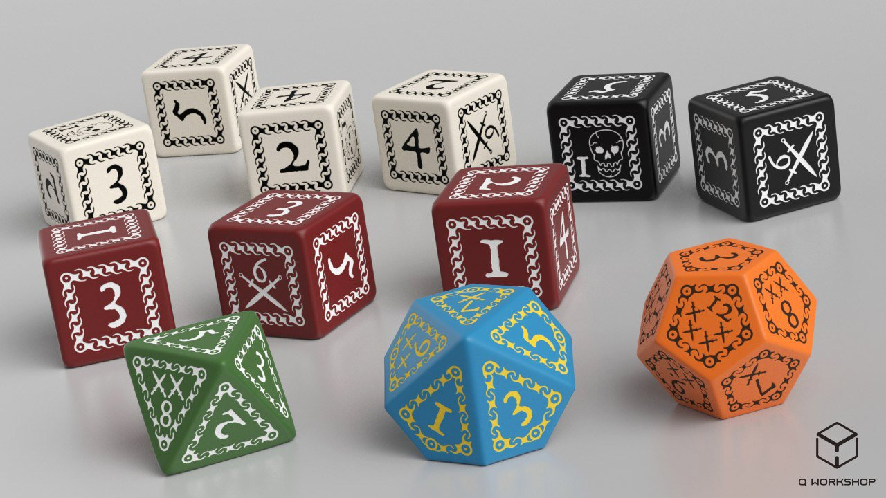 Forbidden Lands: Custom Dice Set