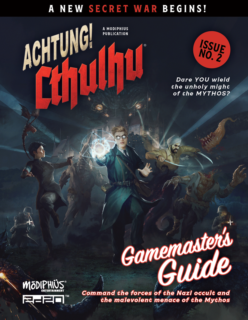 Achtung! Cthulhu 2d20: Gamemaster's Guide