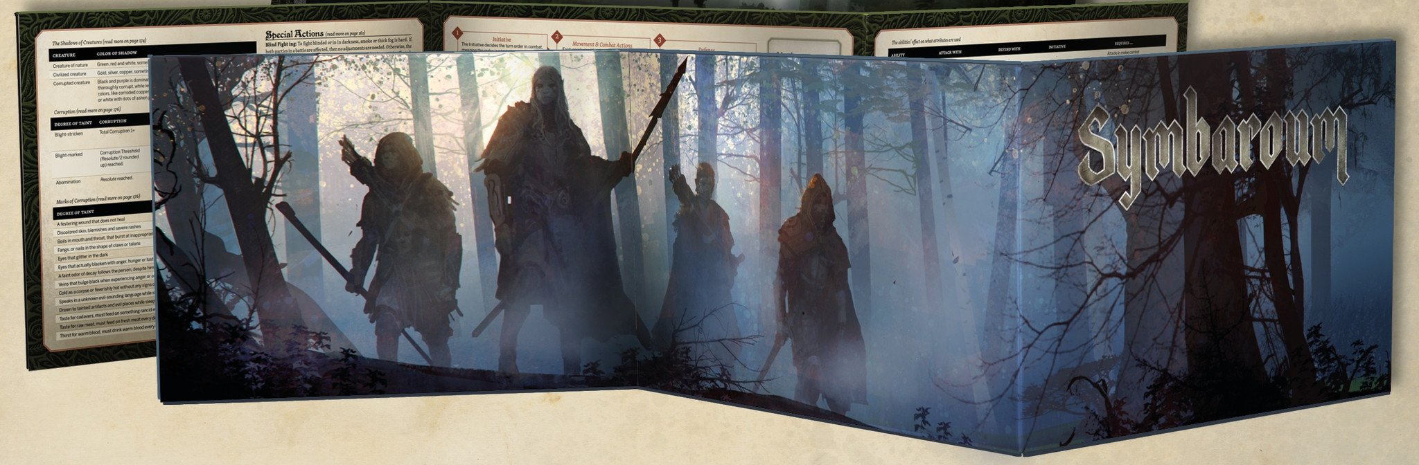 Symbaroum: Gamesmaster Screen - PDF