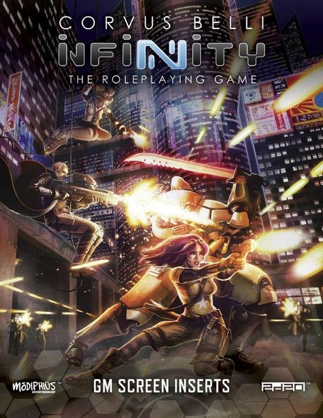 Infinity GM Screen + Code Infinity - PDF