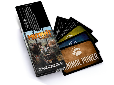 Mutant: Genlab Alpha Card Deck - Modiphius Entertainment