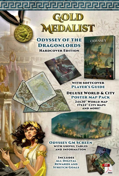 Odyssey of the Dragonlords: Gold Medallist Pledge