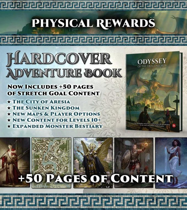 Odyssey of the Dragonlords: Gold Medallist Pledge - Modiphius Entertainment