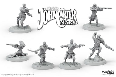 John Carter Miniatures: Helium Fighting Crew Miniatures Set
