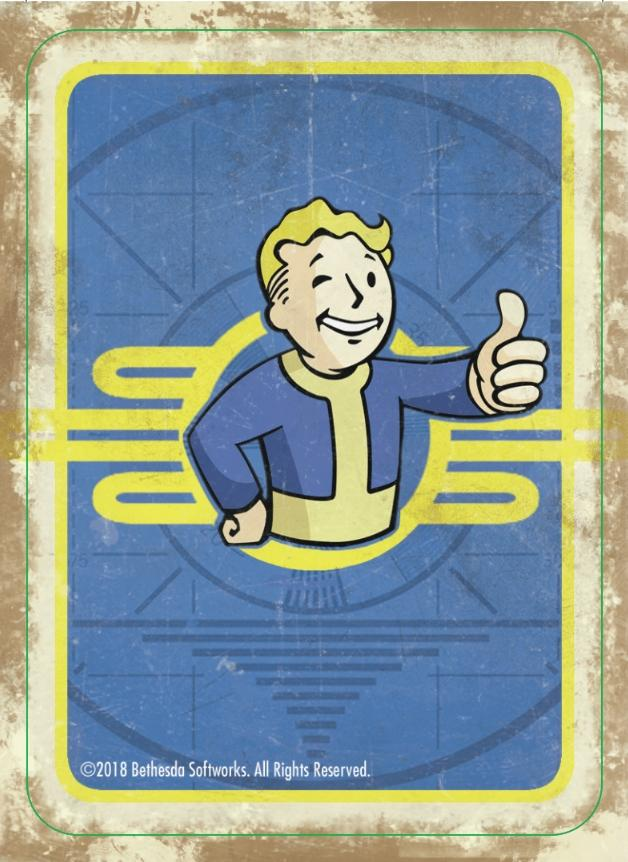Fallout: Wasteland Warfare – Print and Play: HIGH RES 2 Player Cards PDF (Free Download)