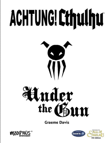 Achtung! Cthulhu: Under the Gun (7th Edition) - PDF