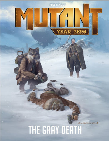 Mutant: Year Zero - The Gray Death - PDF