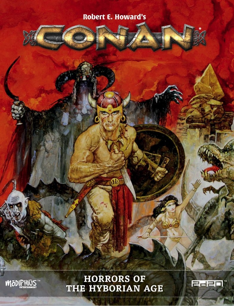 Horrors of the Hyborian Age: Conan RPG (T.O.S.) -  Modiphius Entertainment