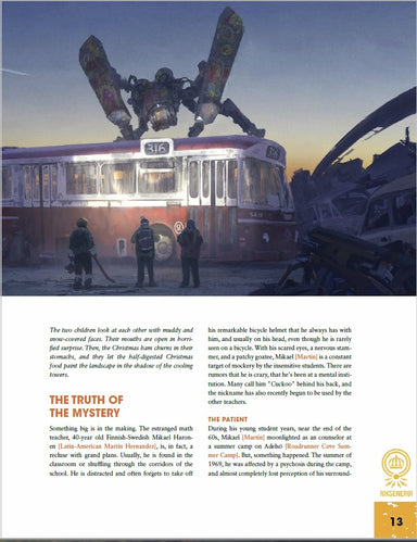 Tales From the Loop - Out of Time Campaign Book