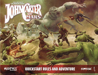 John Carter of Mars Quickstart - Modiphius Entertainment