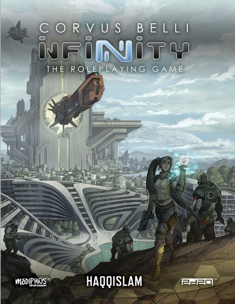 Infinity: Haqqislam Supplement - Modiphius Entertainment