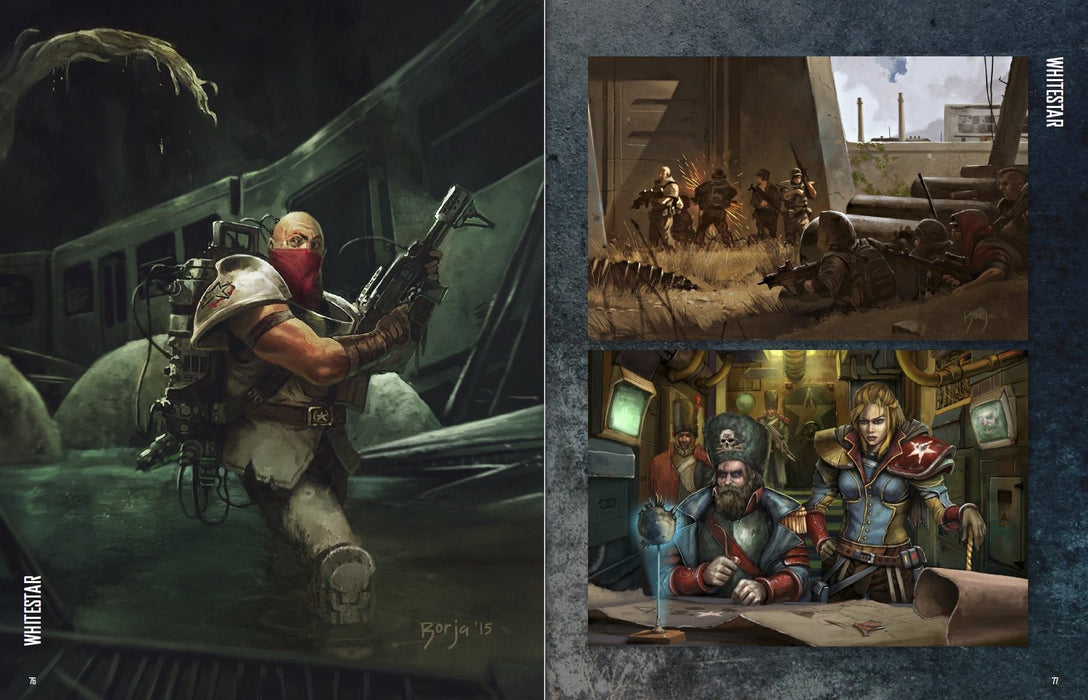 Mutant Chronicles: Art Book - PDF