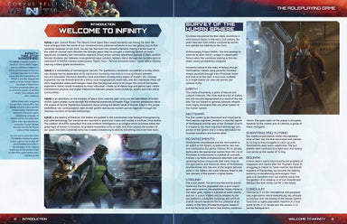 Infinity: Infinity: Player's Guide - Modiphius Entertainment