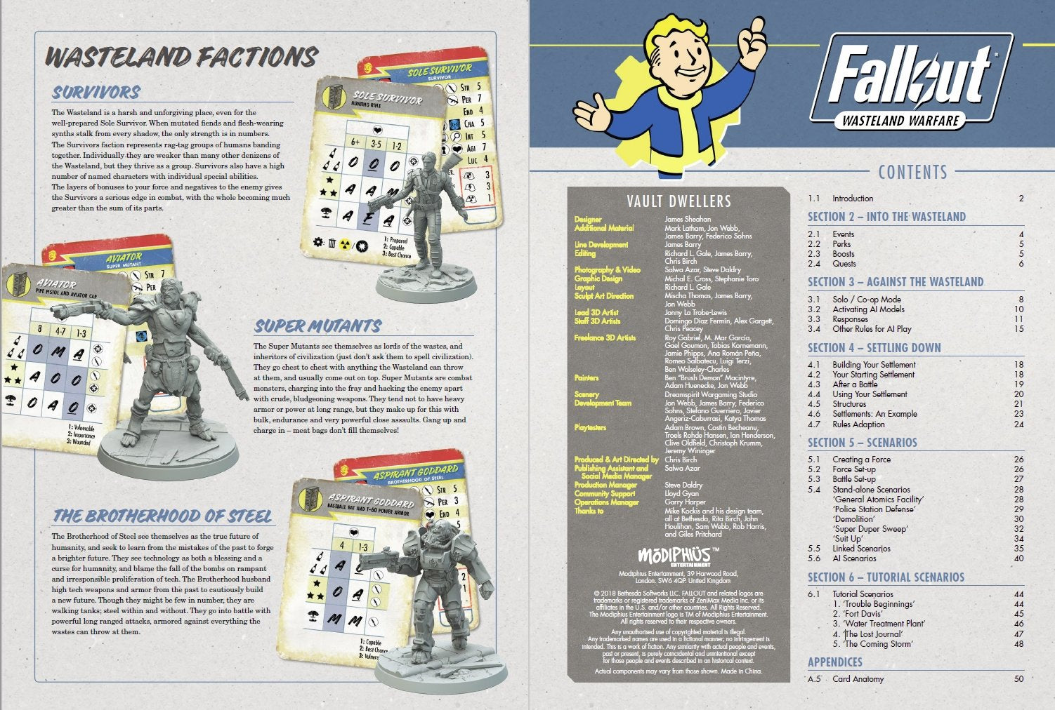 Fallout: Wasteland Warfare – Campaign Book - PDF
