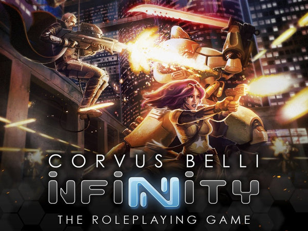 Copy of INFINITY RPG Kickstarter: Infinity RPG Core Book Print & PDF Master Bundle