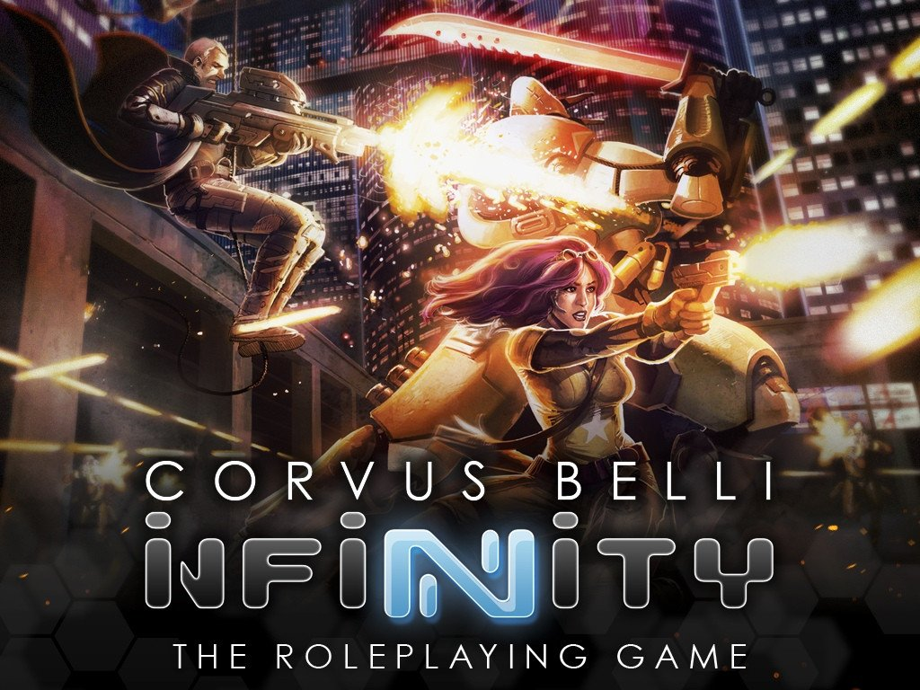 INFINITY RPG Kickstarter: Infinity RPG Collector's Core Book Print & PDF Master Bundle