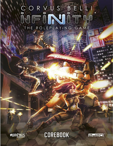 Infinity: Infinity RPG Core Book - PDF - Modiphius Entertainment