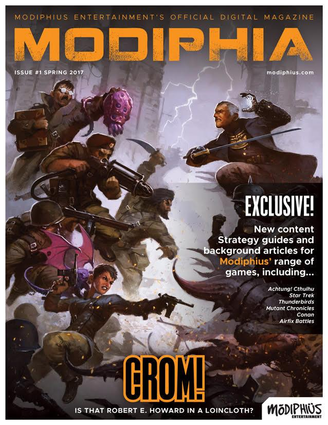 Modiphia - Issue #1 - Spring 2017