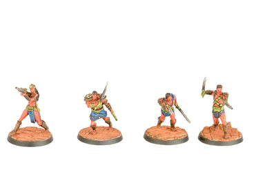 John Carter Miniatures: Zodangan Fighting Crew Miniatures Set