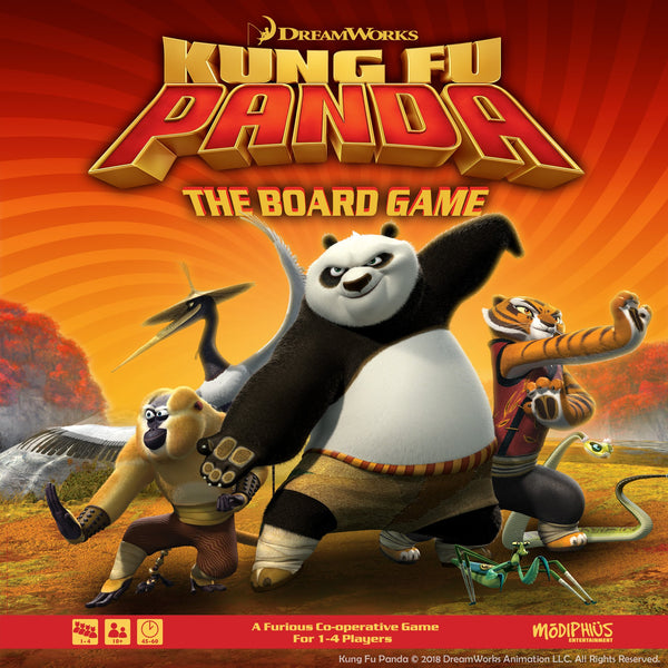 Kung Fu Panda Board Game with Masters - KICKSTARTER PLEDGE