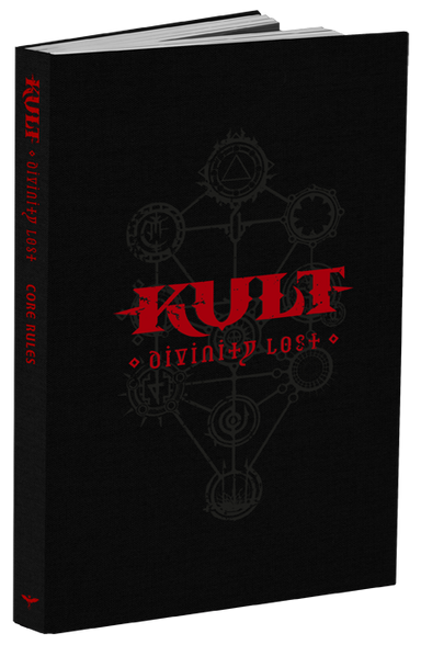 KULT: Divinity Lost Black Edition - 4th Edition Core Rules - Modiphius Entertainment