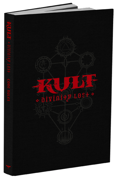 KULT: Divinity Lost Black Edition - 4th Edition Core Rules