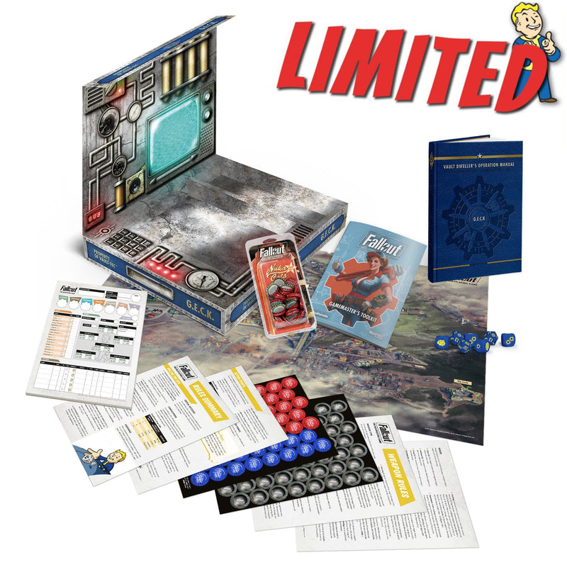 Fallout: The Roleplaying Game G.E.C.K. Special Edition Box