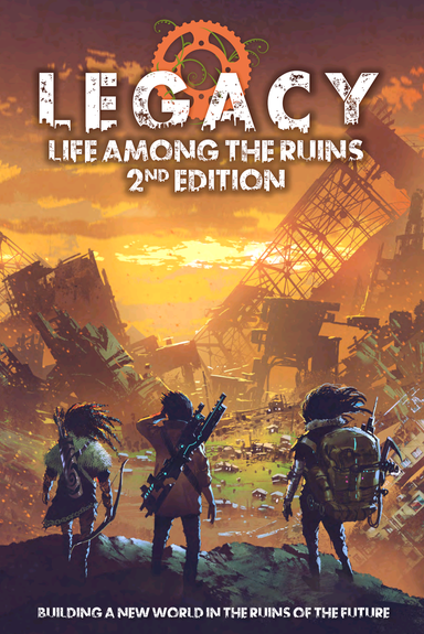 Legacy: Life Among the Ruins 2nd Edition Hardback - Modiphius Entertainment