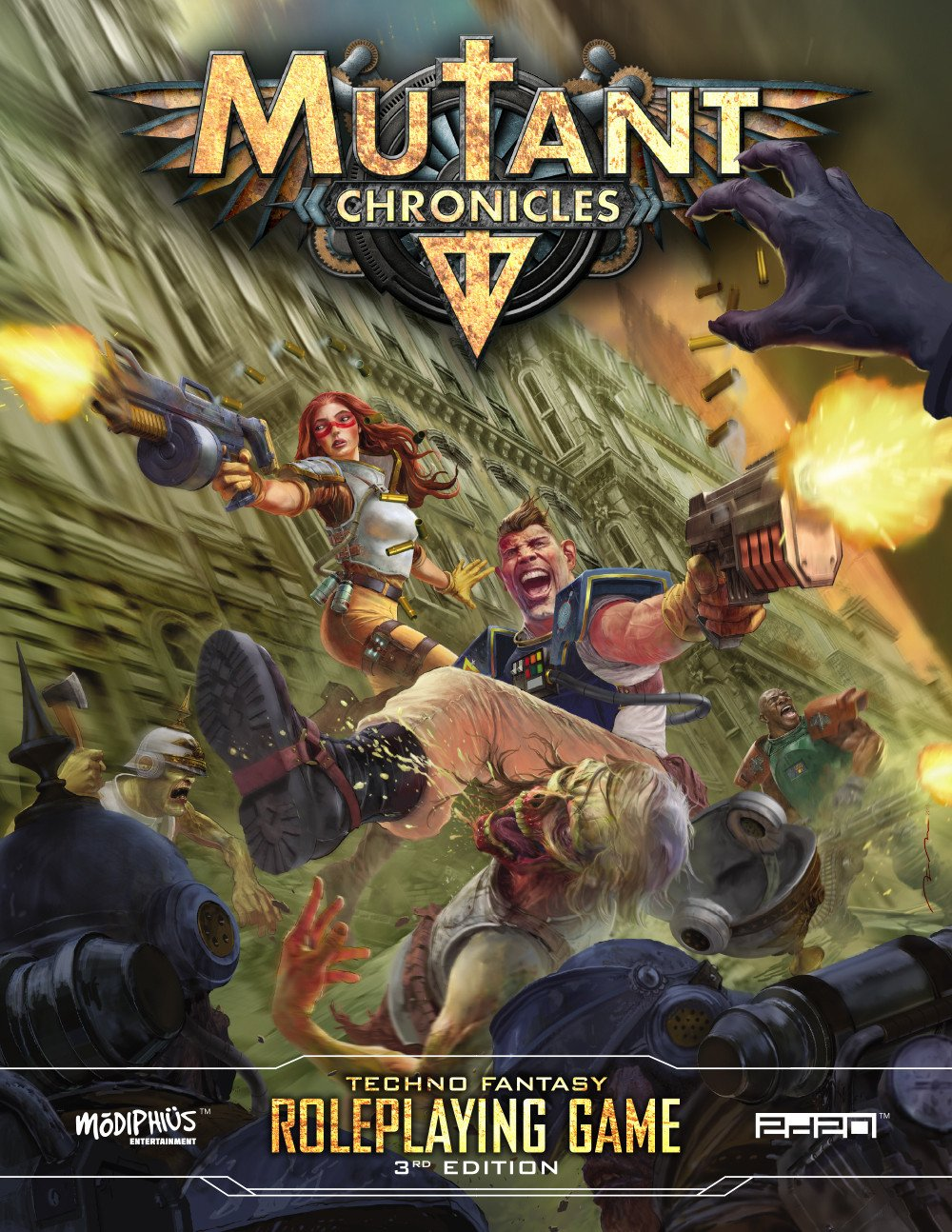 Mutant Chronicles 3rd Edition Roleplaying Game
