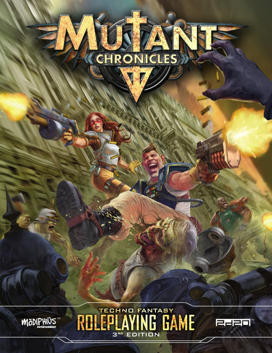 Mutant Chronicles 3rd Edition Roleplaying Game - PDF