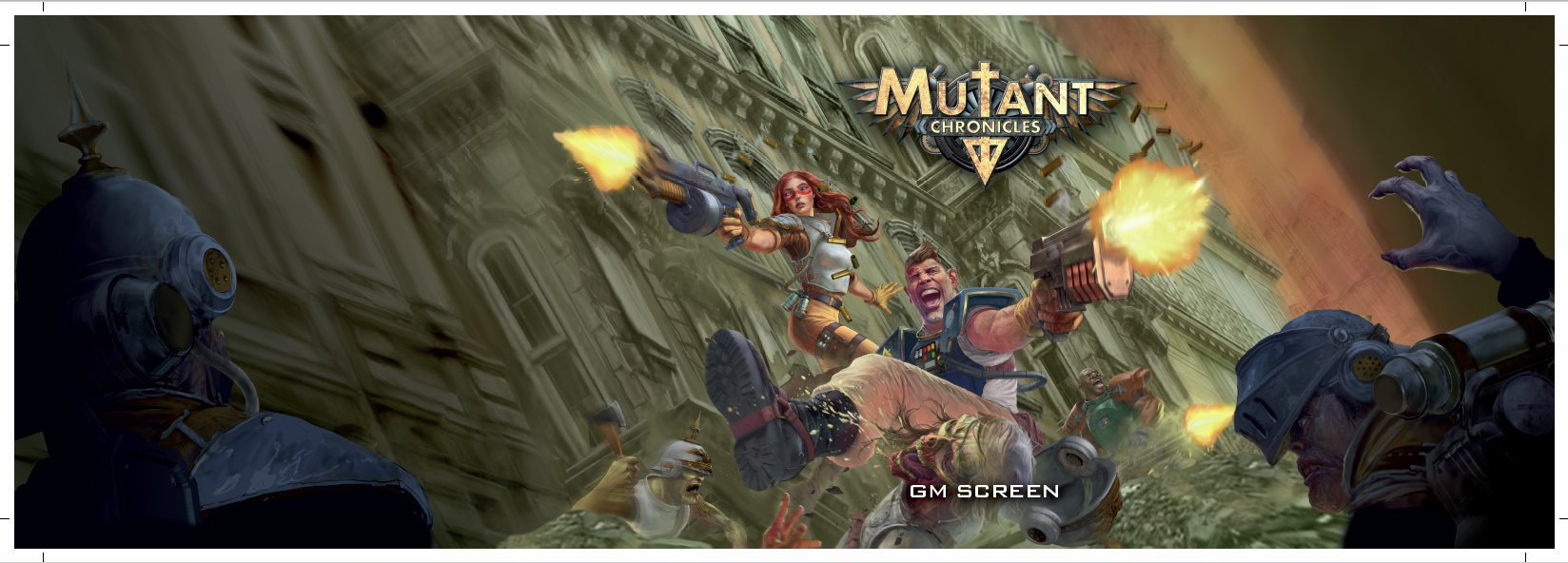 GM Screen: Mutant Chronicles -  Modiphius Entertainment