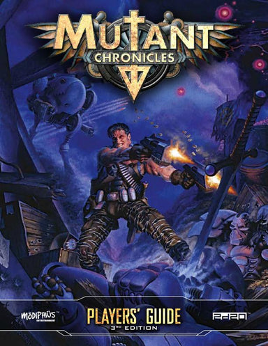 Mutant Chronicles Player's Guide - PDF