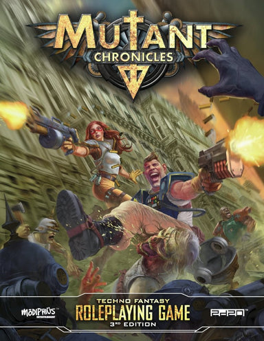 Mutant Chronicles Gamemaster Bundle - Modiphius Entertainment