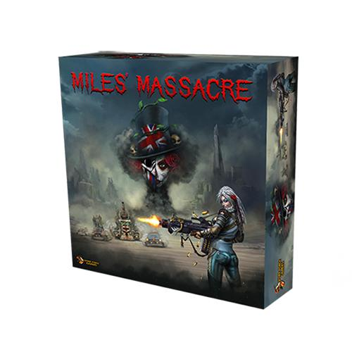 Devil's Run Mile's Massacre Board Game