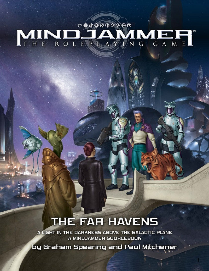 Mindjammer: The Far Havens - Modiphius Entertainment