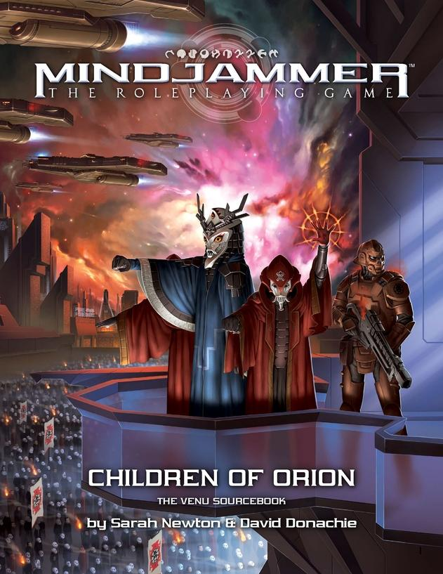 Children of Orion The Venu: Mindjammer RPG  (T.O.S.) -  Modiphius Entertainment