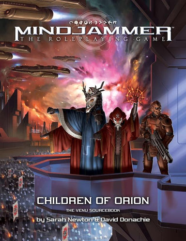 Mindjammer: Children of Orion—the Venu Sourcebook - Modiphius Entertainment