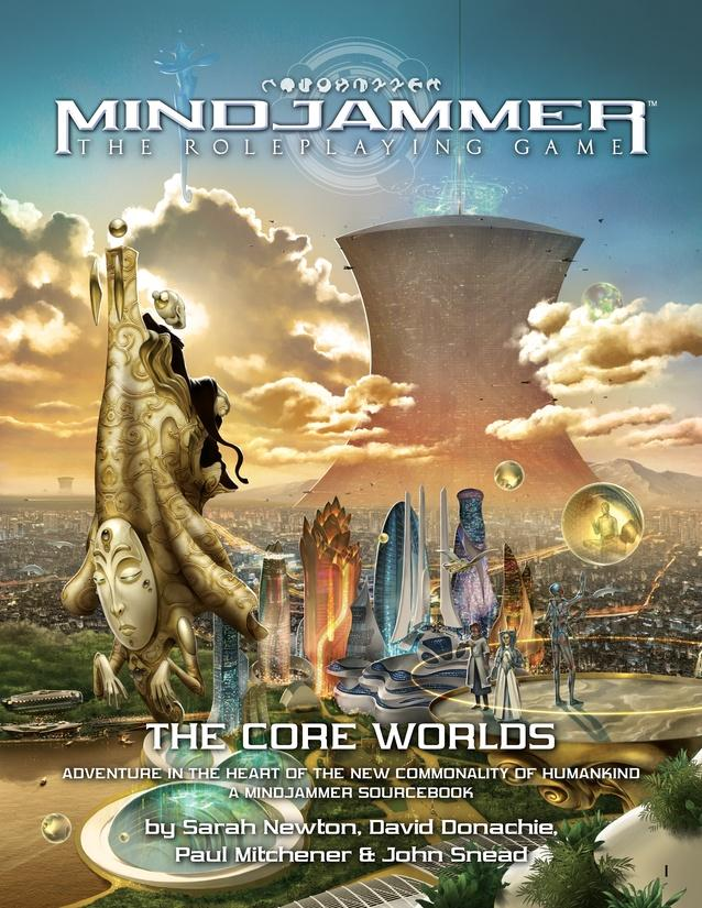Mindjammer: The Core Worlds Sourcebook - Modiphius Entertainment