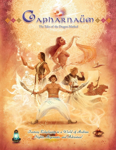 CAPHARNAUM - THE TALES OF THE DRAGON-MARKED RPG CORE BOOK - Modiphius Entertainment